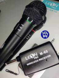 Microfone Leon sem fio