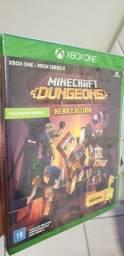 Título do anúncio: Jogo game minecraft Xbox one Xbox series novo