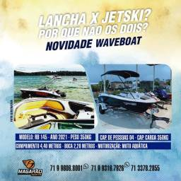 Título do anúncio: Lancha e jet ski 02 em 01 River boat