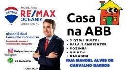 Título do anúncio: AR Vendo Casa na AABB em Serra Talhada-PE