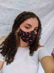 Máscara 3D Feminina Reutilizável Perfeita Para Quem Usa Óculos