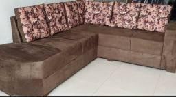Vários modelos de sofá de canto