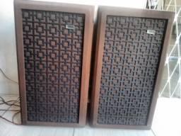 Caixa bravox bbr-10 (Receiver, amplificador, Toca disco, Tape deck, Equalizador)