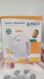 Título do anúncio: Vendo Nebulizador G.TECH bivolt (Inalador)