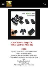 Tampa suporte de pilhas Controle de xbox 360