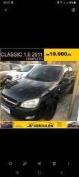 Título do anúncio: Classic 2011 1.0 (AR/ALARME/TRAVAS)