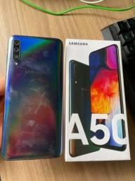 Título do anúncio: Samsung A50 - 128gb
