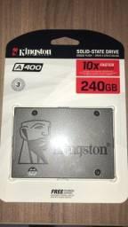 Título do anúncio: Hd SSD 240 Gb kingston