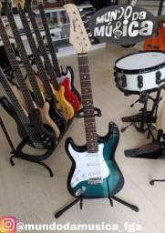Guitarra Waldman Stratocaster para canhoto