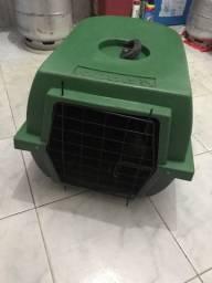 Casinha plástica portátil para cachorro!