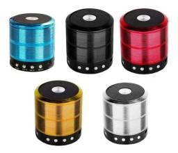 Caixa De Som Portátil Speaker Ws-887 Bluetooth, SD, Radio, pendrive