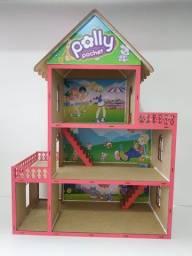 Casinhas de Boneca em MDF - Polly, Barbie, Lol