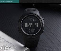 Título do anúncio: Relógio Digital Preto Para Criança ou adulto masculino