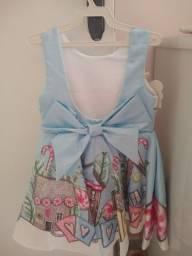 Título do anúncio: Vestido infantil novo da Luluzinha