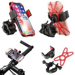 Título do anúncio: Suporte de Celular Para Bicicleta Bike Moto Com Super Elástico de Silicone