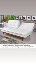 Título do anúncio: Sofá Cama Muito Novo Motivo Mudança Ribeirão Preto