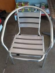 Mesas e cadeiras alumínio