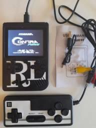 Mini Vídeo Game Portátil - 400 Jogos Retro Clássico e Controle 2 Jogadores SUP