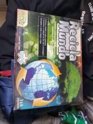Recicla mundo jogo de tabuleiro