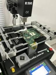 Reparo placa de vídeo - Reballing BGA