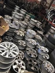 Diversos modelos de rodas desparceradas