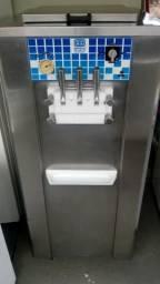 Maquina de sorvete soft expresso italiano bertollo