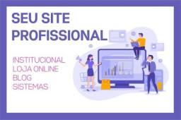 Seu site profissional (loja online, institucional, blog)