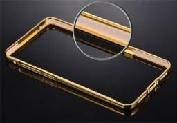 Case de metal espelhado z3 plus