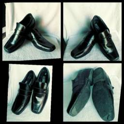 Sapato preto social n° 35