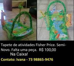 Tapete de atividades Fisher Price