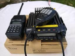 Rádios VHF ICOM + ZASTONE
