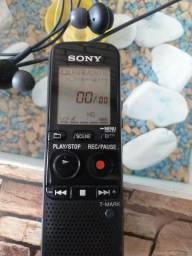 Mini gravador+fone original AKG
