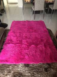 Tapete felpudo Rosa Pink