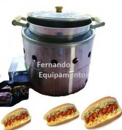 Aquecedora de pao de hot dog / cachorro quente, estufa a vapor de pães