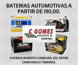 Baterias Automotivas com Preços Especiais na CGomes Baterias