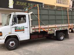 Faz frete caminhão boiadeiro