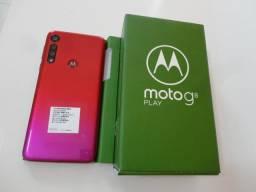 Motorola Moto G8 Play 32GB Vermelho Magenta