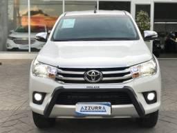 Toyota hilux 2.8 srv 4x4 cd 16v diesel 4p automático 2017 - 2017