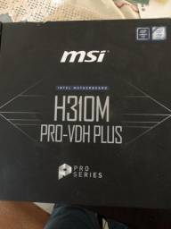 Placa mãe MSI H310M DDR4