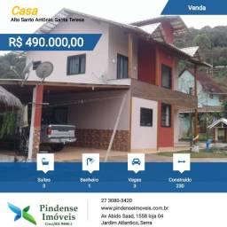 Casa duplex em Santa Teresa, 514m²