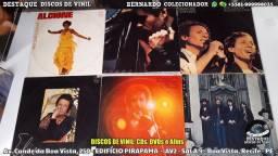 Discos de Vinil, Loja Físca Na Conde da Boa Vista, Recife - PE