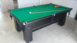 Mesa de Bilhar Charme Tecido Verde Modelo KKF8465