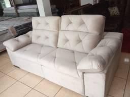 Sofá 2,15L Retrátil e reclinável