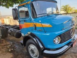 Vendo ou troco caminhão Mercedes ano 76 completo.com direção hidráulica e turbinado