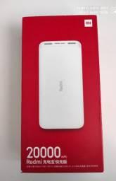Carregador Portátil Universal Power Bank Xiaomi 20000mah
