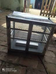 Estufa elétrica duas portas toda de inox(troco por fogão a gás)