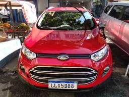 Ford EcoSport FSL 1.6 2014 Flex com GNV (Pequena Entrada + Parcelas Fixas de R$ 699,00)