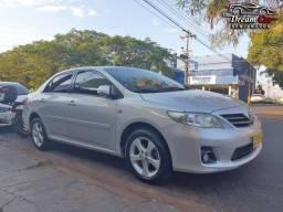 Toyota corolla 2.0 xei 16 v automático 4 pneus novos 2012