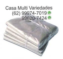 Saco Plástico para Cesta Básica Kit com 100 Unidades