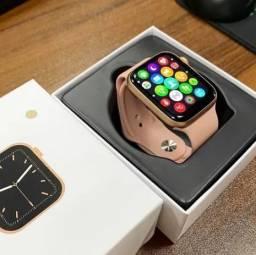 Smartwatch Novo W26+ Plus Botão Rotativo Giratório Preto